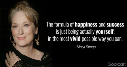 Meryl Streep Goalcast